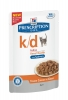 Hills K/D Prescription Diet™ k/d™ Feline Tender Chunks in Gravy with Salmon паучи для кошек лечение заболеваний почек Лосось